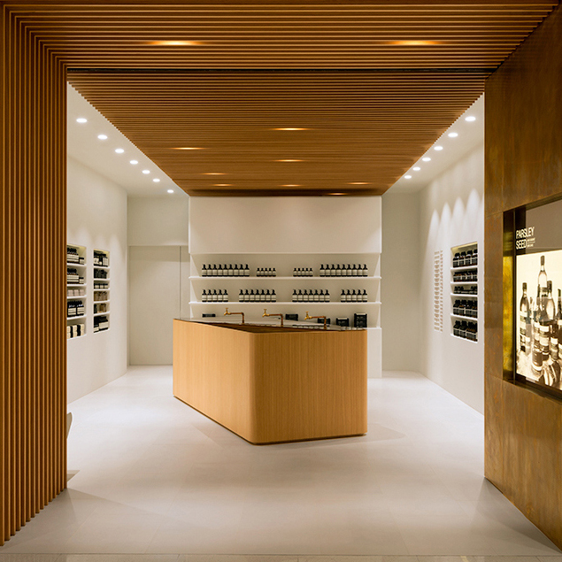 Aesop Elements Shop, Hong Kong