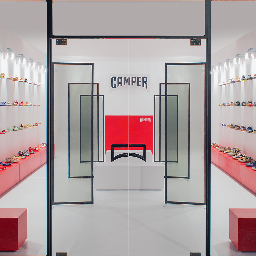 Camper Retail Installation by ECAL, Milan
