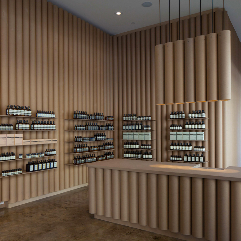 Aesop store by Brooks + Scarpa, Los Angeles