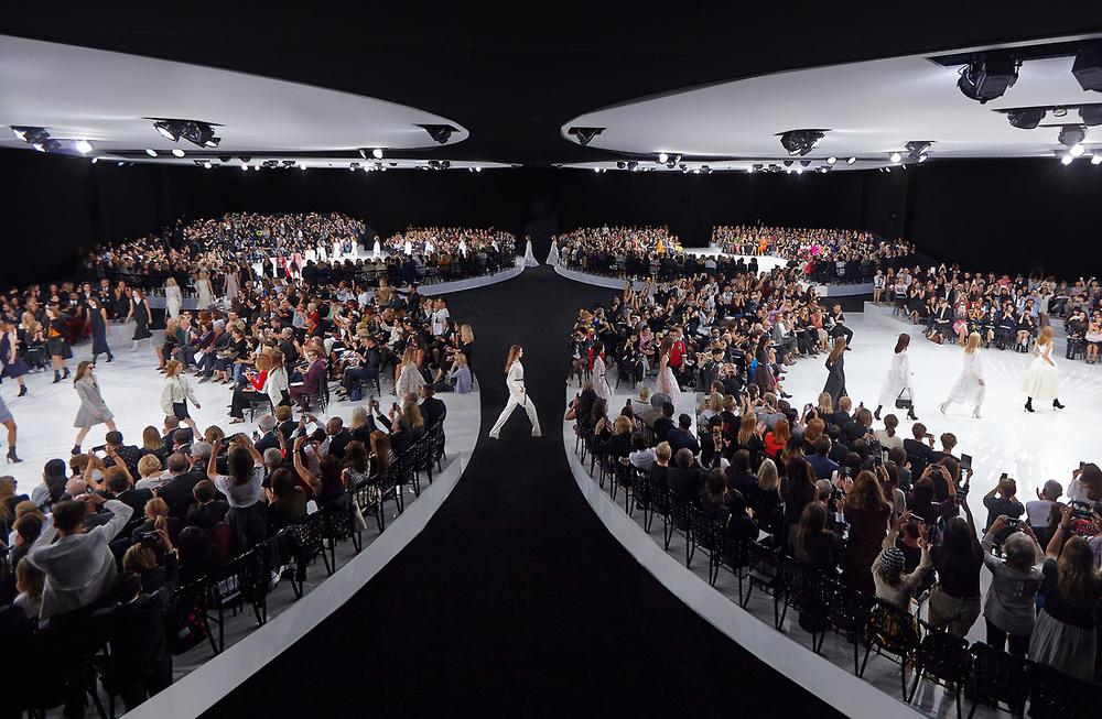 Bureau Betak Designs Christian Dior's RTW SS15 Runway