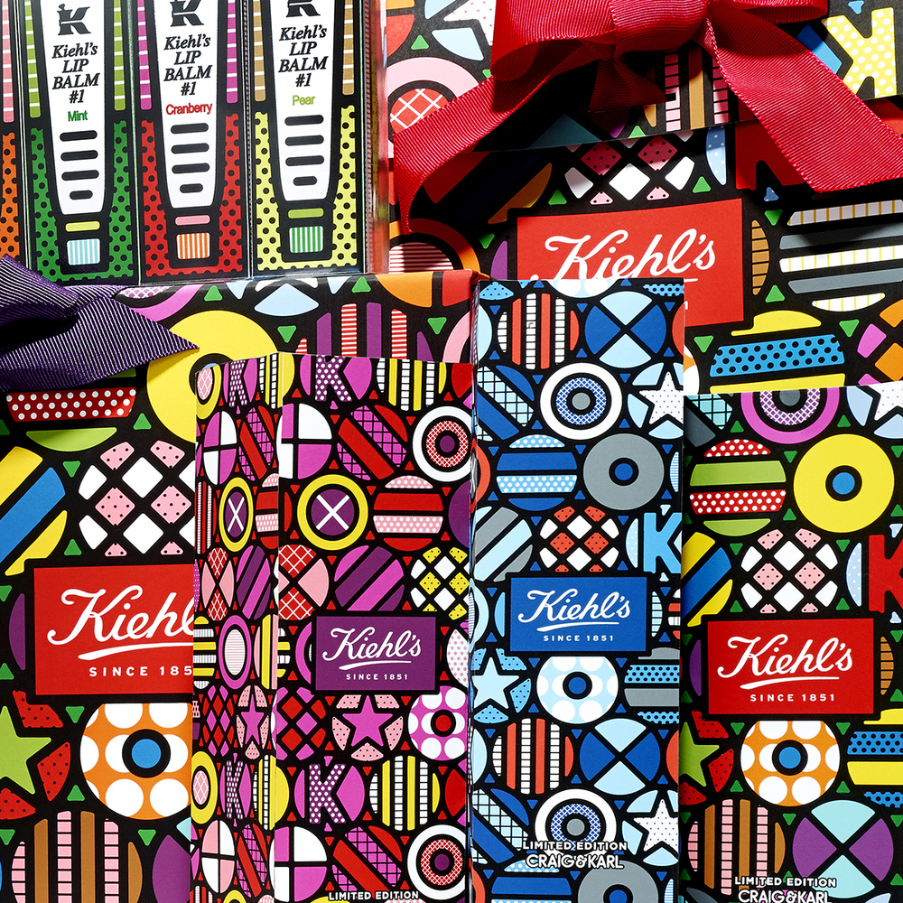 Craig & Karl Packaging Design for Kiehl's