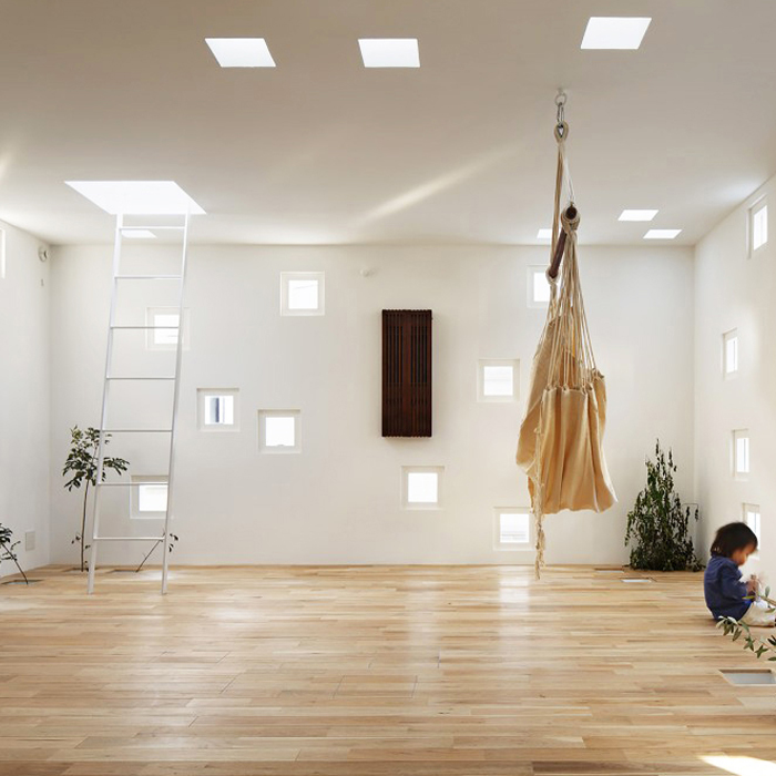 Roomroom house by Takeshi Hosaka