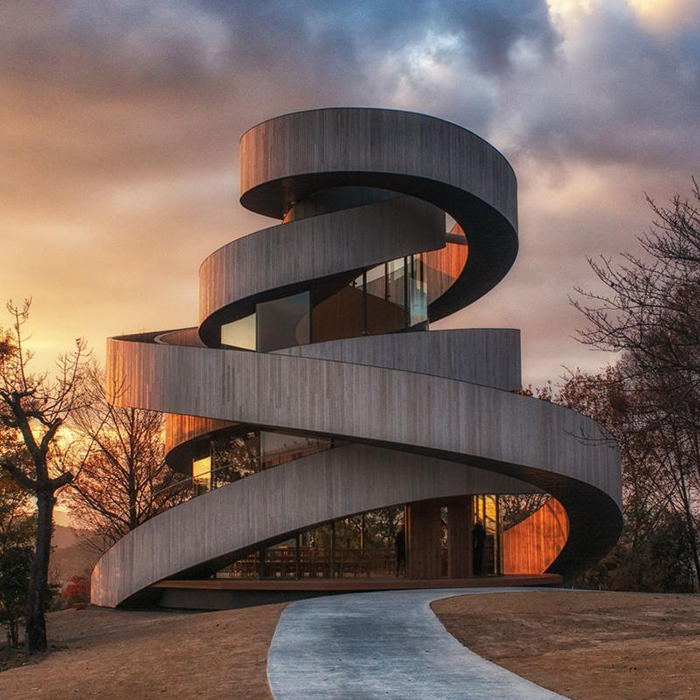 Four The Best Building: Best Of 2014: Sculptural Structures