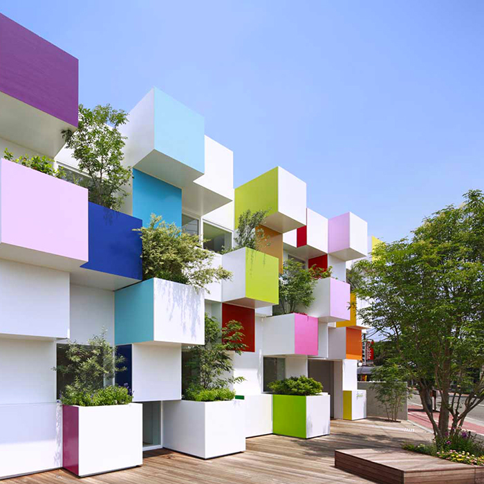 Sugamo Shinkin Bank by Emmanuelle Moureaux Architecture