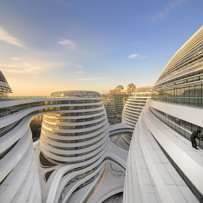Galaxy Soho By Zaha Hadid Architects