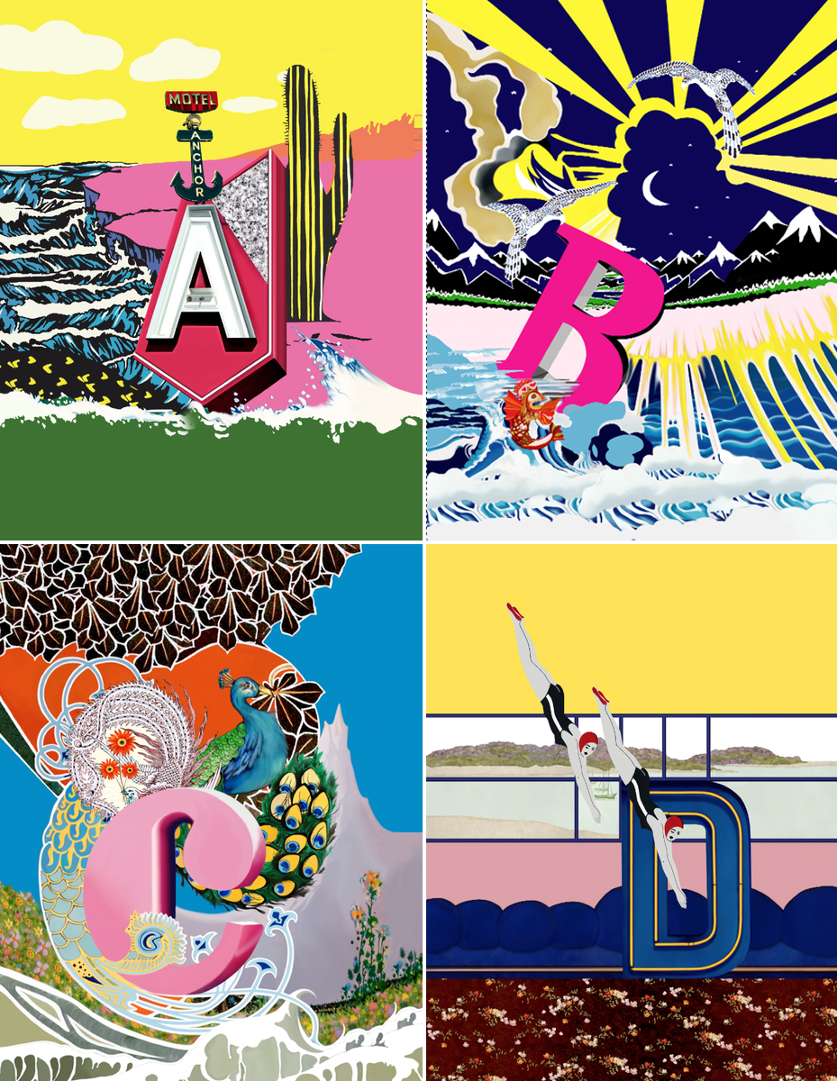 Mary Katrantzou's A To Z Collection