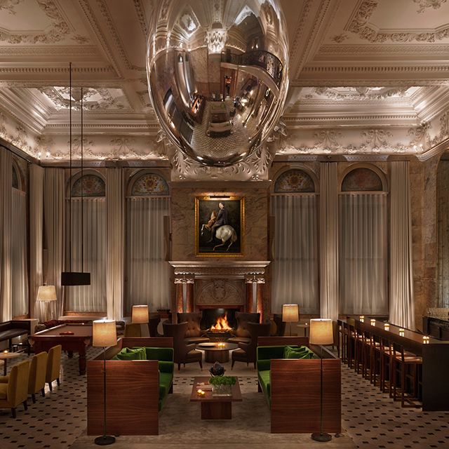 Berners Tavern at London Edition Hotel by Yabu Pushelberg