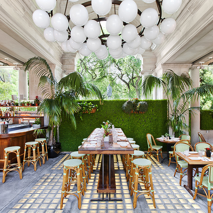 The Pavilion Market Cafe in Union Square by Scott Kester Architects