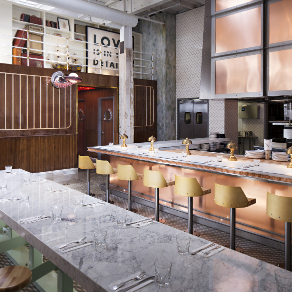 Ironside Fish & Oyster by BASILE Studios