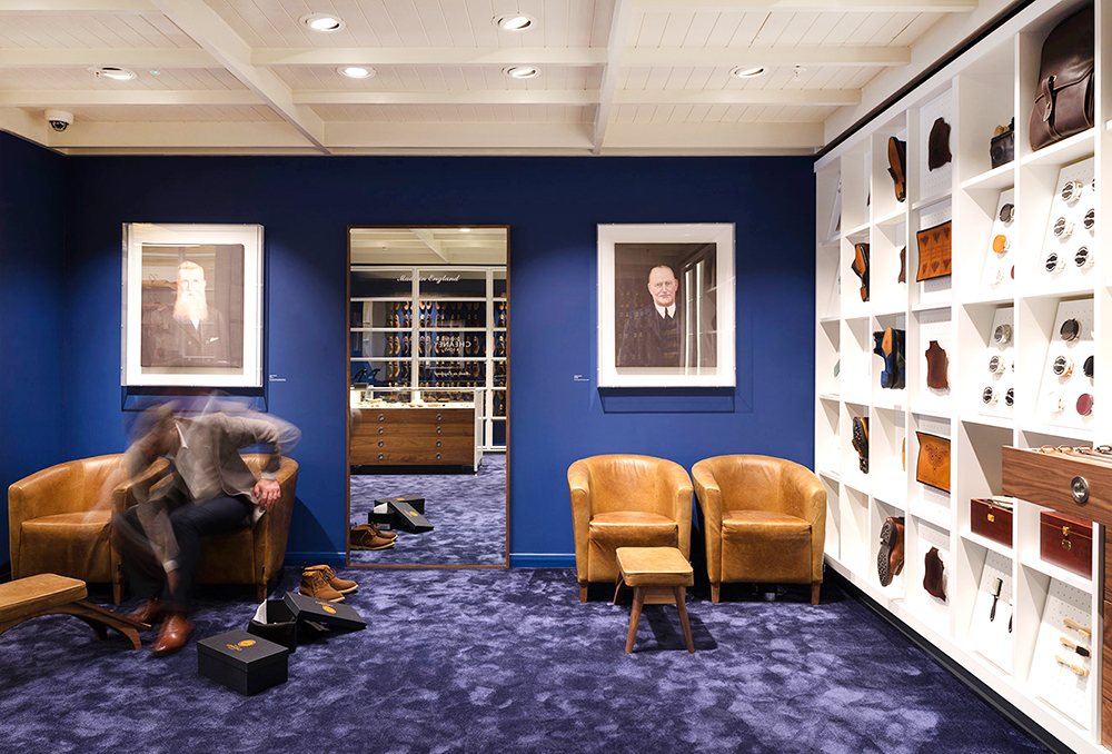 Joseph Cheaney & Sons' Jermyn Street Store by Checkland Kindleysides