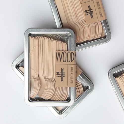 Wood Flatware $14