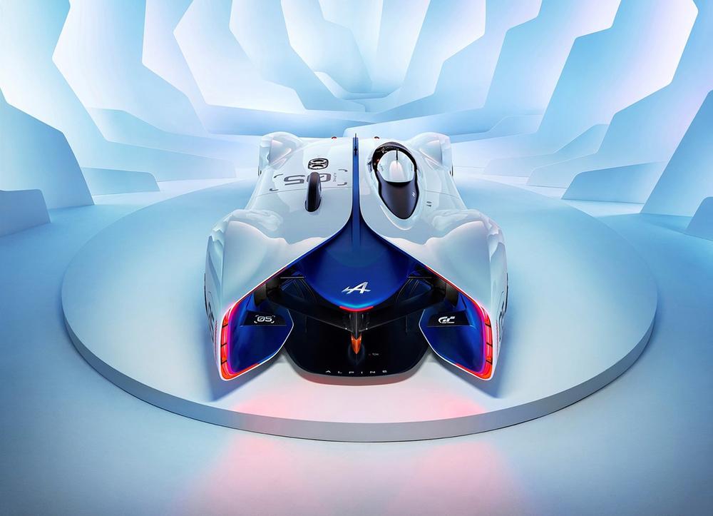 Alpine Gran Turismo Concept Car 2015