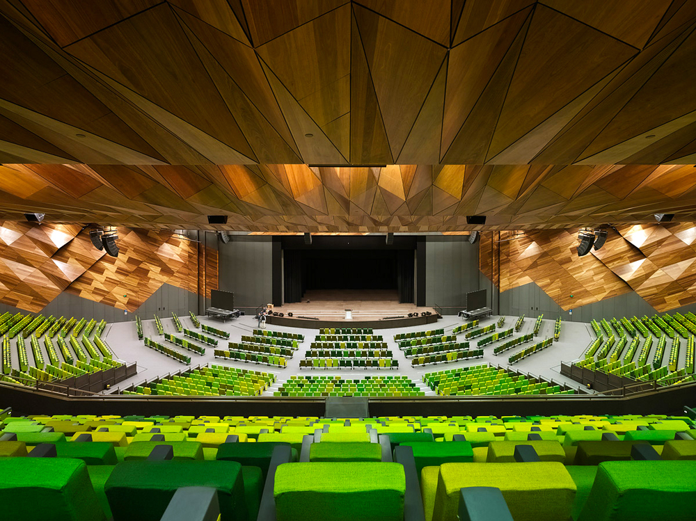 Melbourne Convention and Exhibition Centre by Woods Bagot.