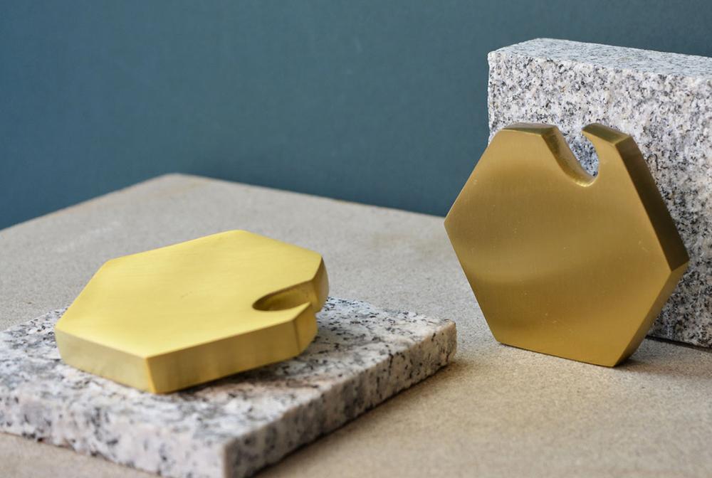Ferm Brass Bottle Opener designed by Ferm Living