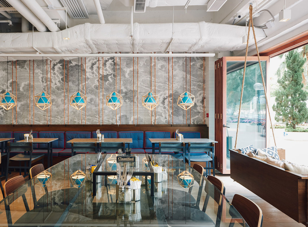 Classified Restaurant Opens at Repulse Bay in Hong Kong