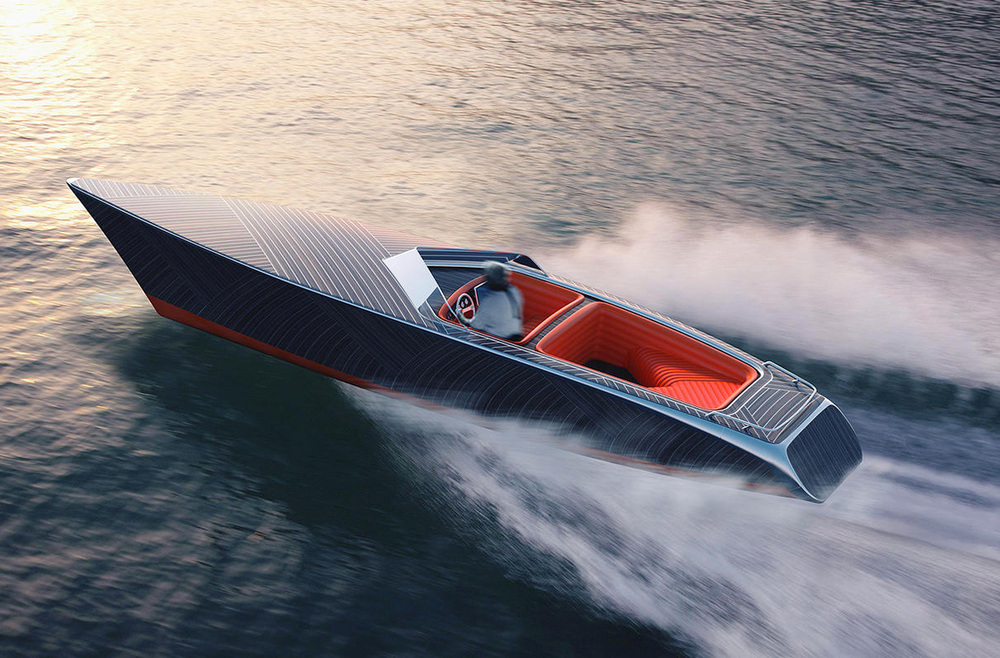 Zebra An Electric Boat With A Classic Look Designed By
