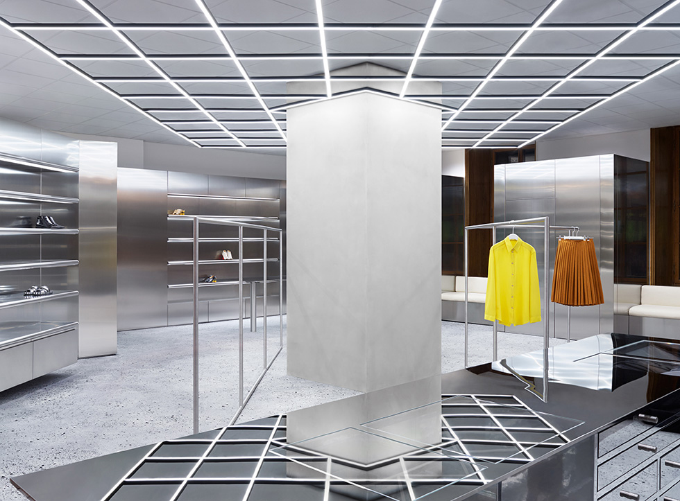 Extrêmement Geometry 101: Acne Studios Opens Up Shop in Stockholm — KNSTRCT QU36