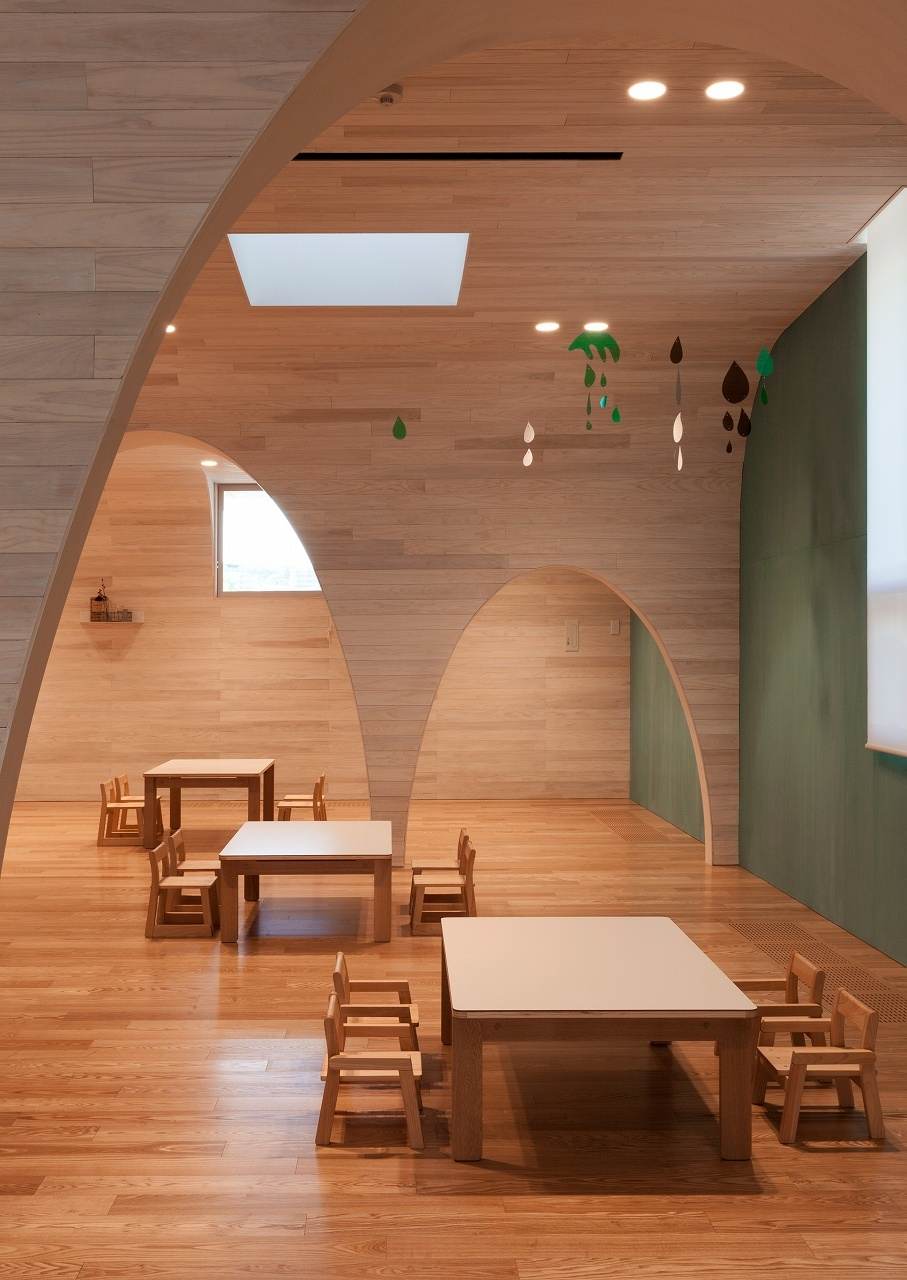 Leimond-Shonaka Nursery School by Archivision Hirotani Studio ...