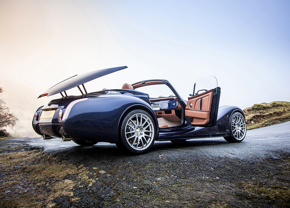 Morgan Motor reveals their 2015 Aero 8 at the Geneva Motor Show