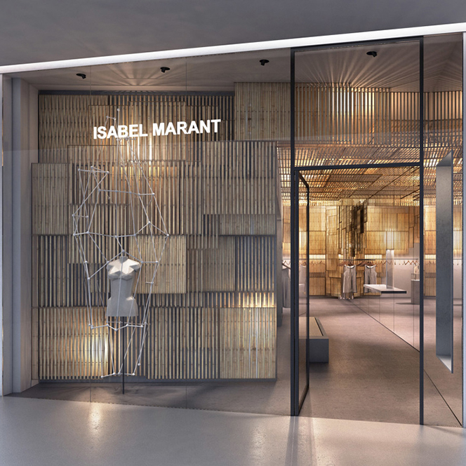 Branding & The Built Environment: Isabel Marant | KNSTRCT