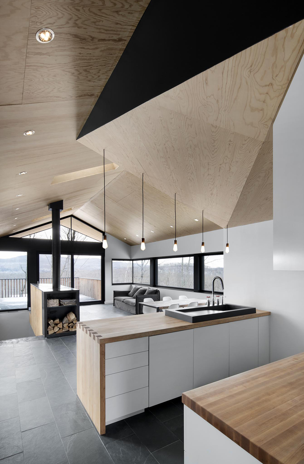 Bolton Residence Naturehumaine Designs Gable Roofed