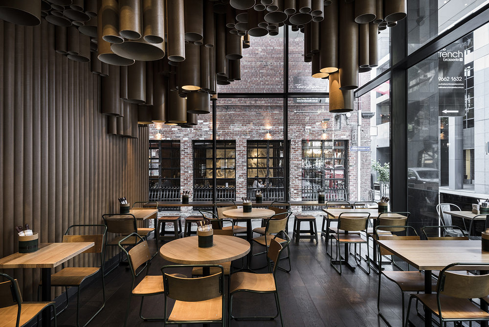 Techne Makes Quirky Use Of Low Cost Materials At Grillu0027du0027s New Melbourne  Restaurant |