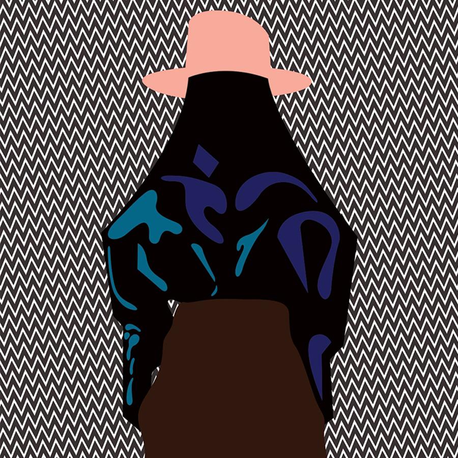 Graphic designer Magnus Voll Mathiassen