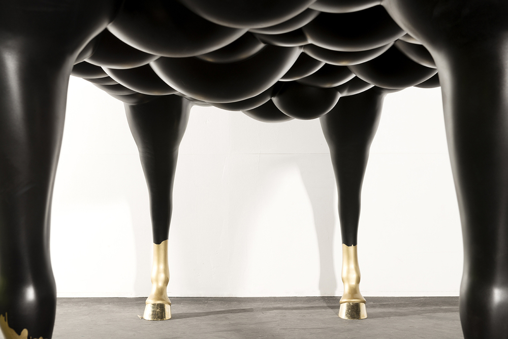 Mad Horse Table By Samuel Benshalom | KNSTRCT