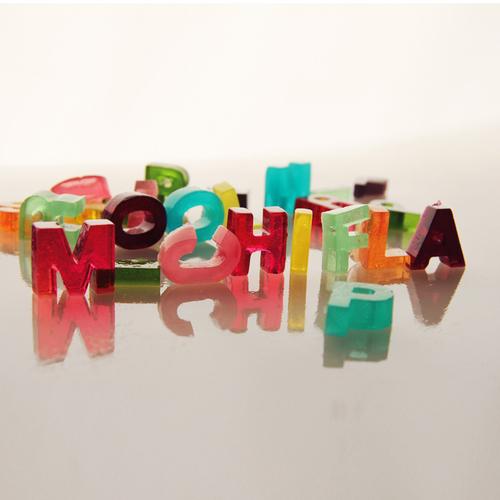 Lucía Rallo and Aranxa Esteve's Helvetica Jello typography