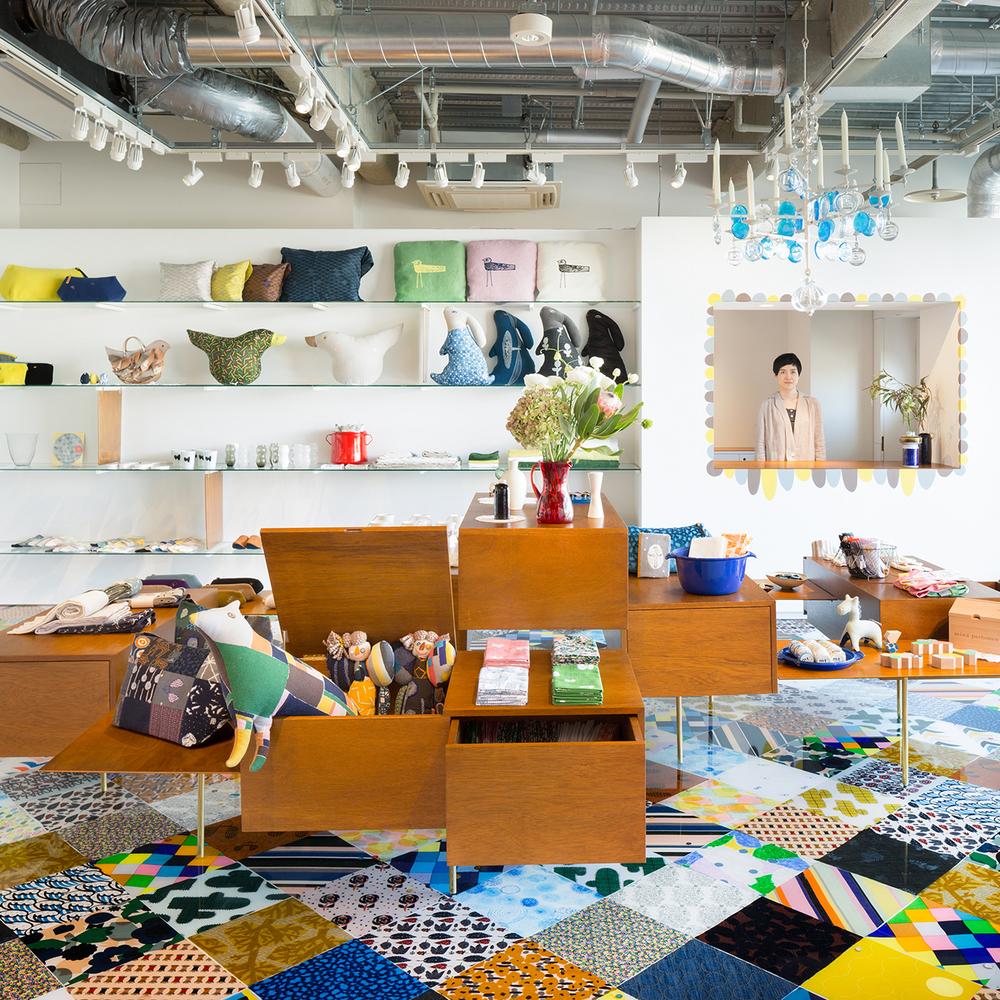 Torafu Architects Design Tokyo's New Minä Perhonen Koti Shop | KNSTRCT