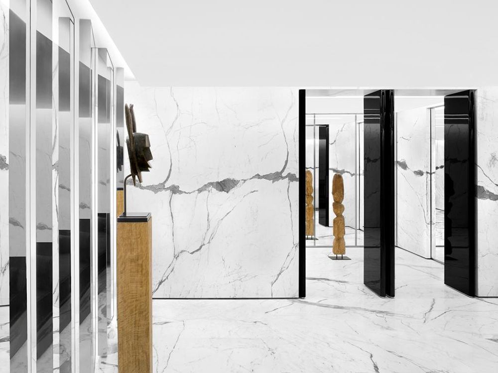 Saint Laurent reopens Parisian store at Faubourg Saint Honore