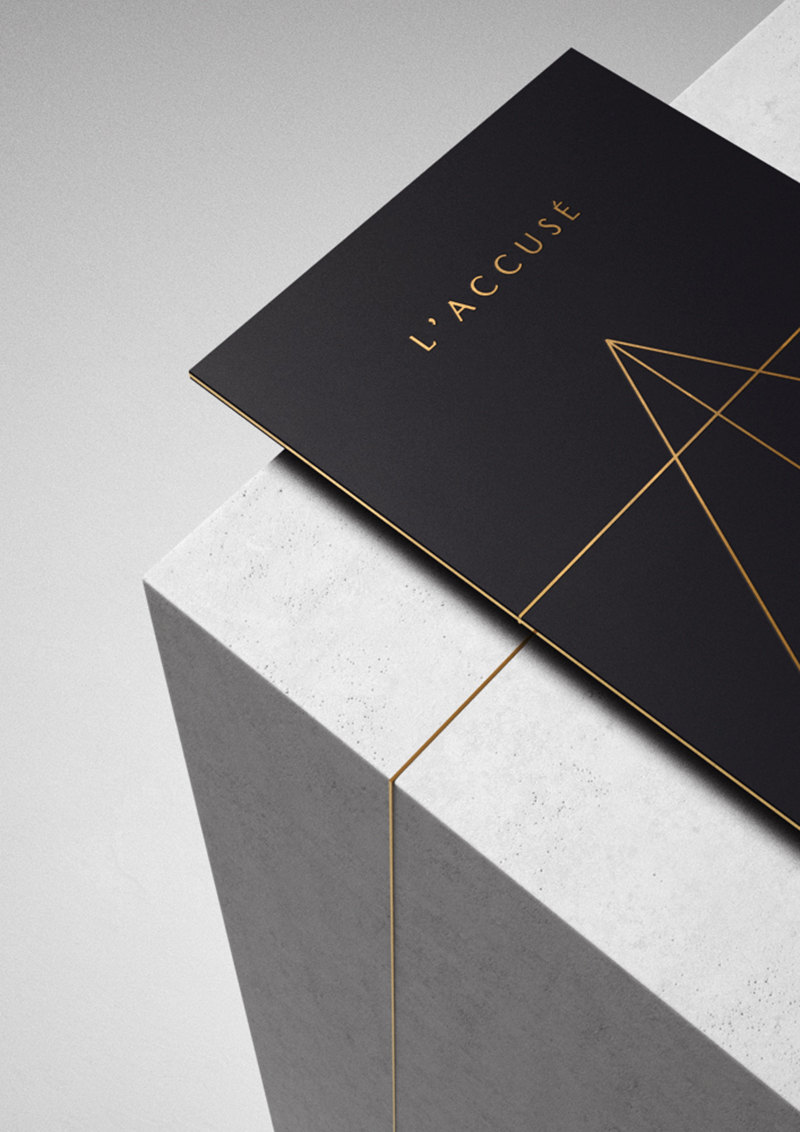Vitruvian Man: The Branding of L'Accusé Restaurant