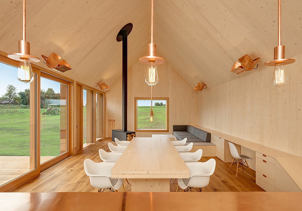 The Woodworks: Kuhnlein Architektur design Timber House
