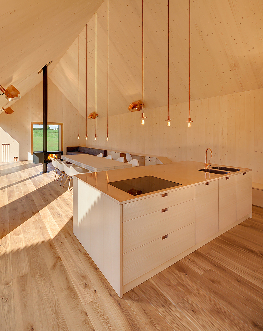 The Woodworks: Kuhnlein Architektur design Timber House