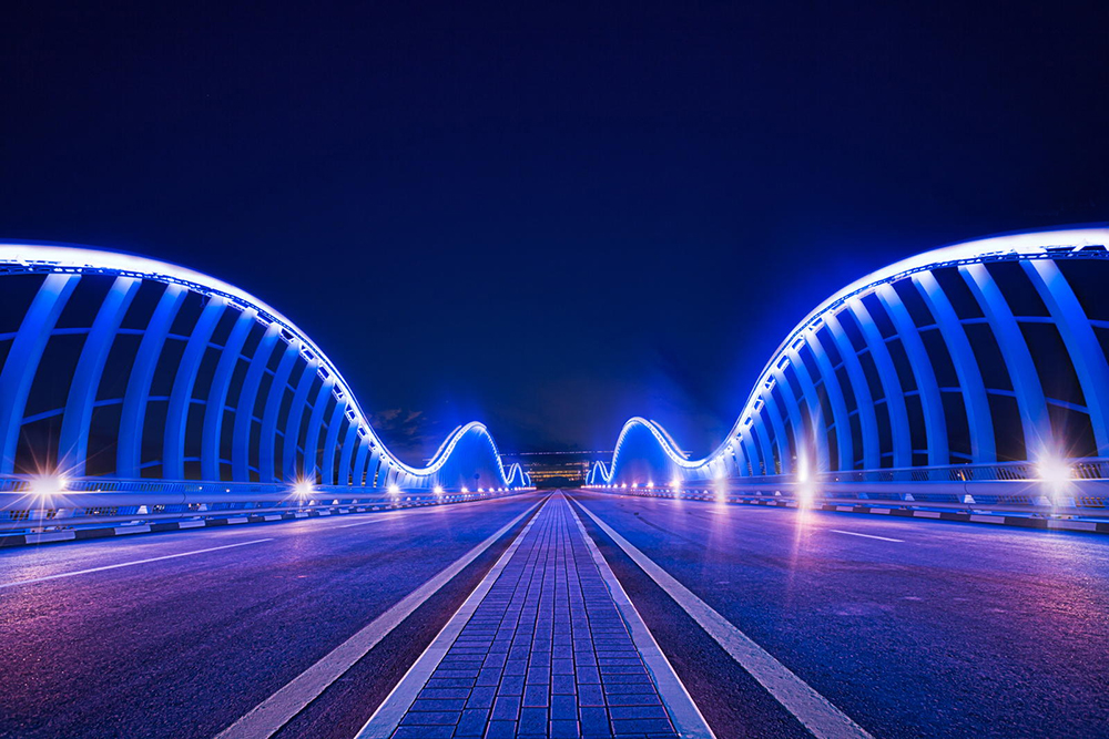 Meydan Bridge , Dubai