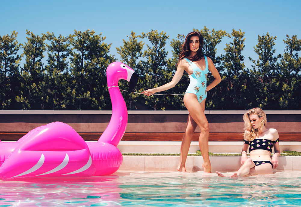 Giant Inflatable Flamingo Pool Float By Funboy $69