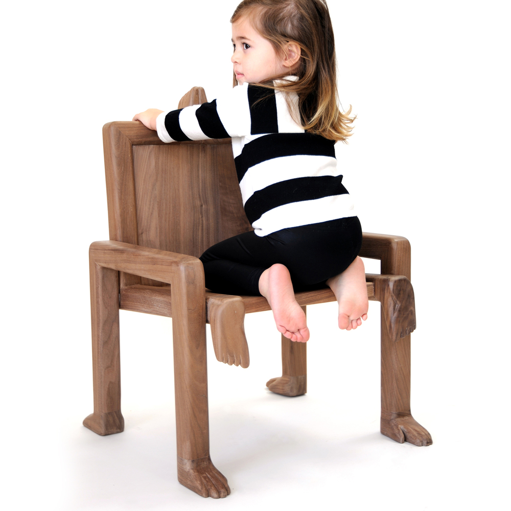 Fictional Furniture: MATERIAL LUST x kinder MODERN craft kids CRAWL Chair