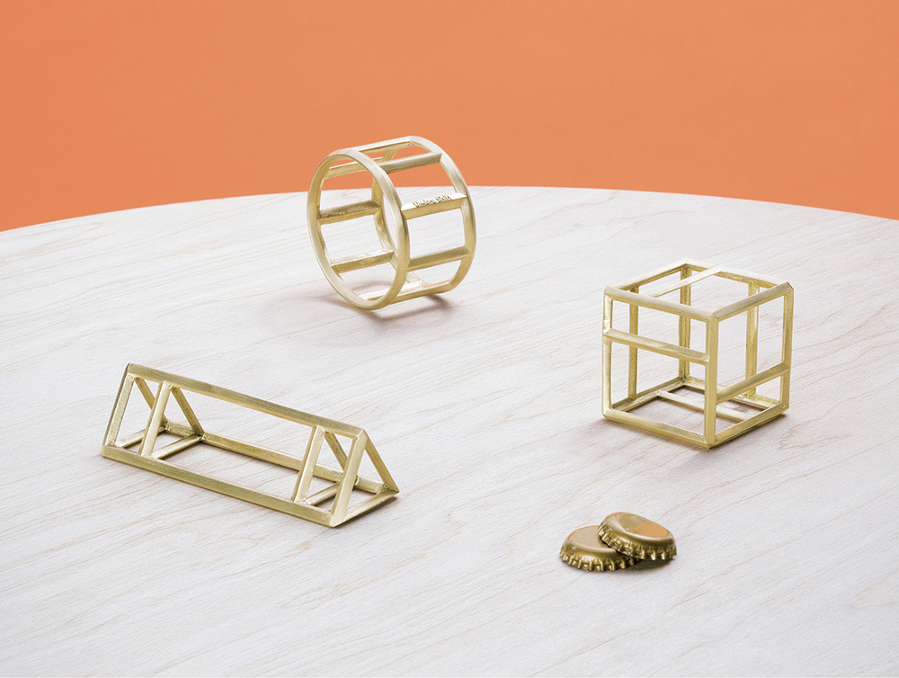 Roll/Truss/Cage Bottle Openers by Umbra Studio