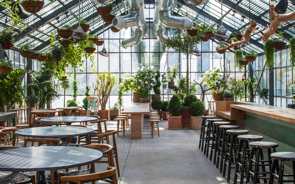 Beautiful LAu0027s Koreatown Greenhouse: The Line Hotelu0027s Commissary Restaurant