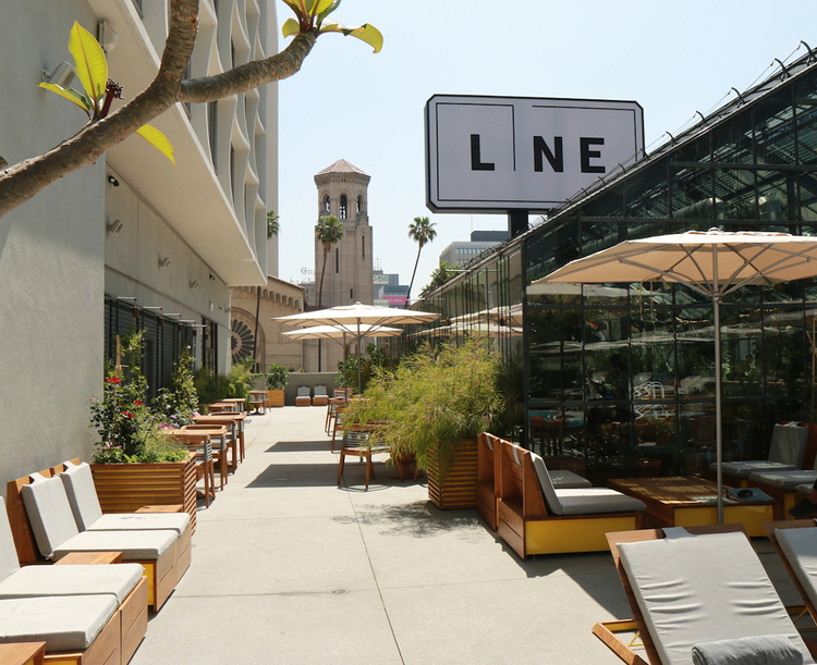 LA's Koreatown Greenhouse: The Line Hotel's Commissary Restaurant