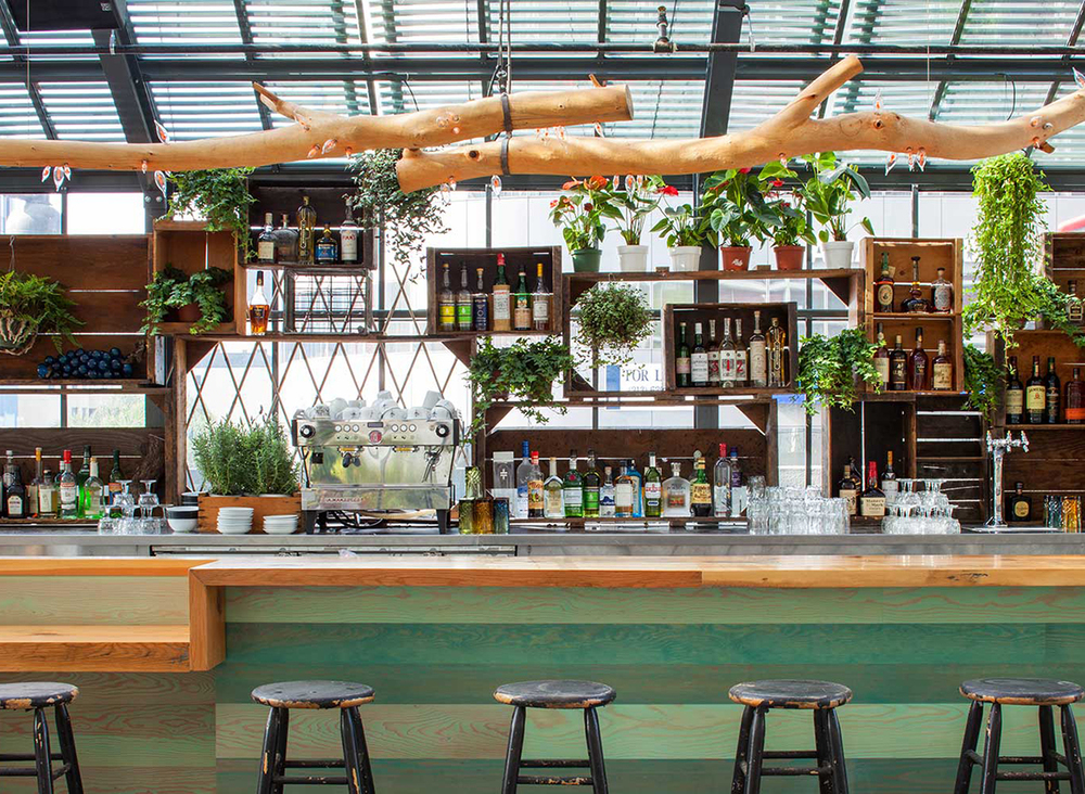 La s koreatown greenhouse the line hotel 39 s commissary for Line hotel los angeles