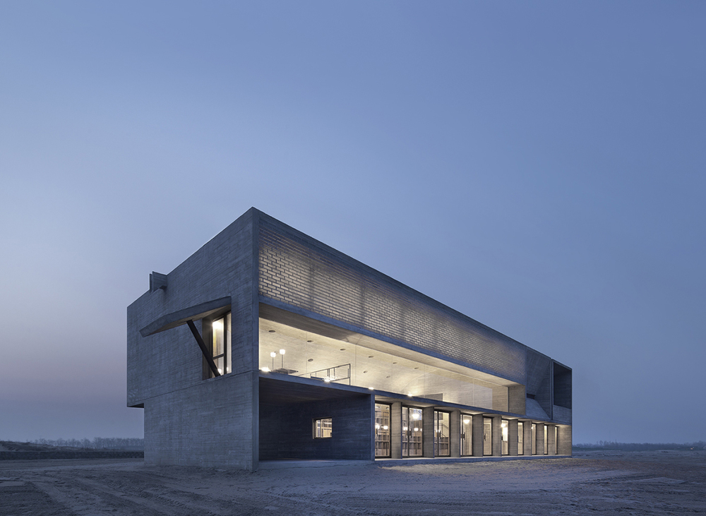 Nandaiha's Seashore Library by Vector Architects