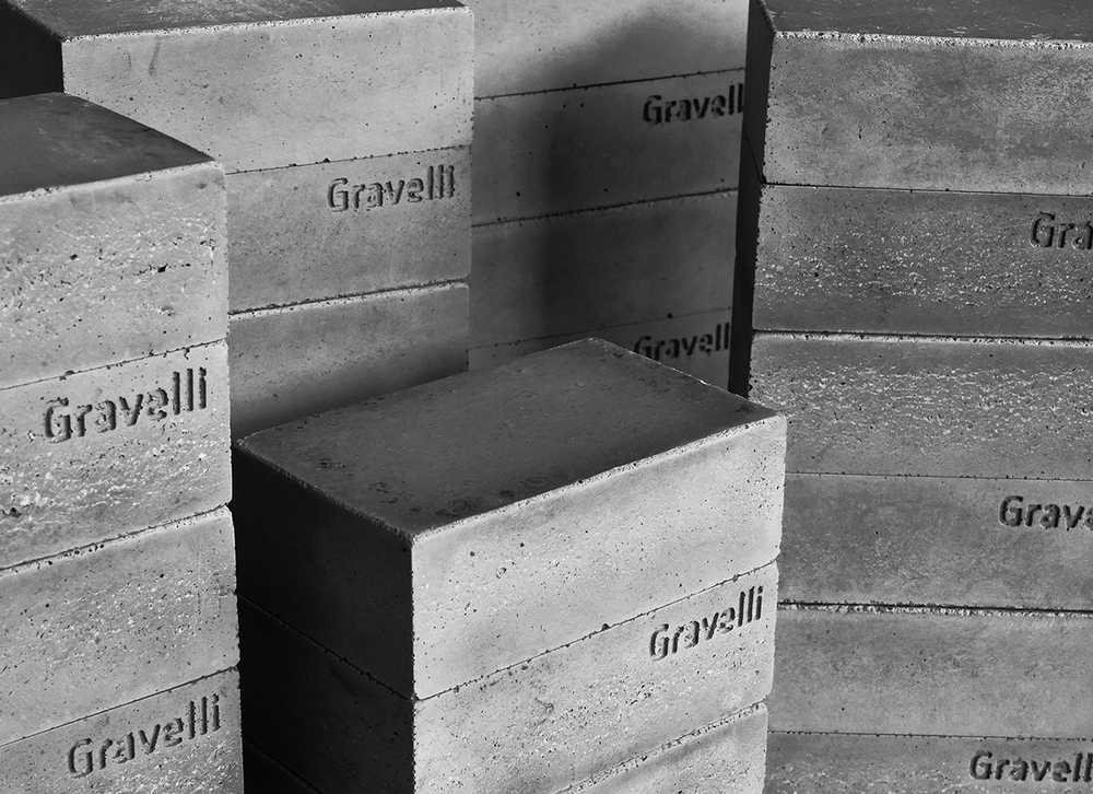 Studio Vacek Sculpts Concrete Jewelry & Box for Gravelli