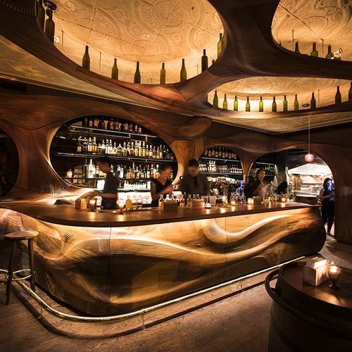 Pintxo: PARTISANS Revisits Art Nouveau with Bar Raval