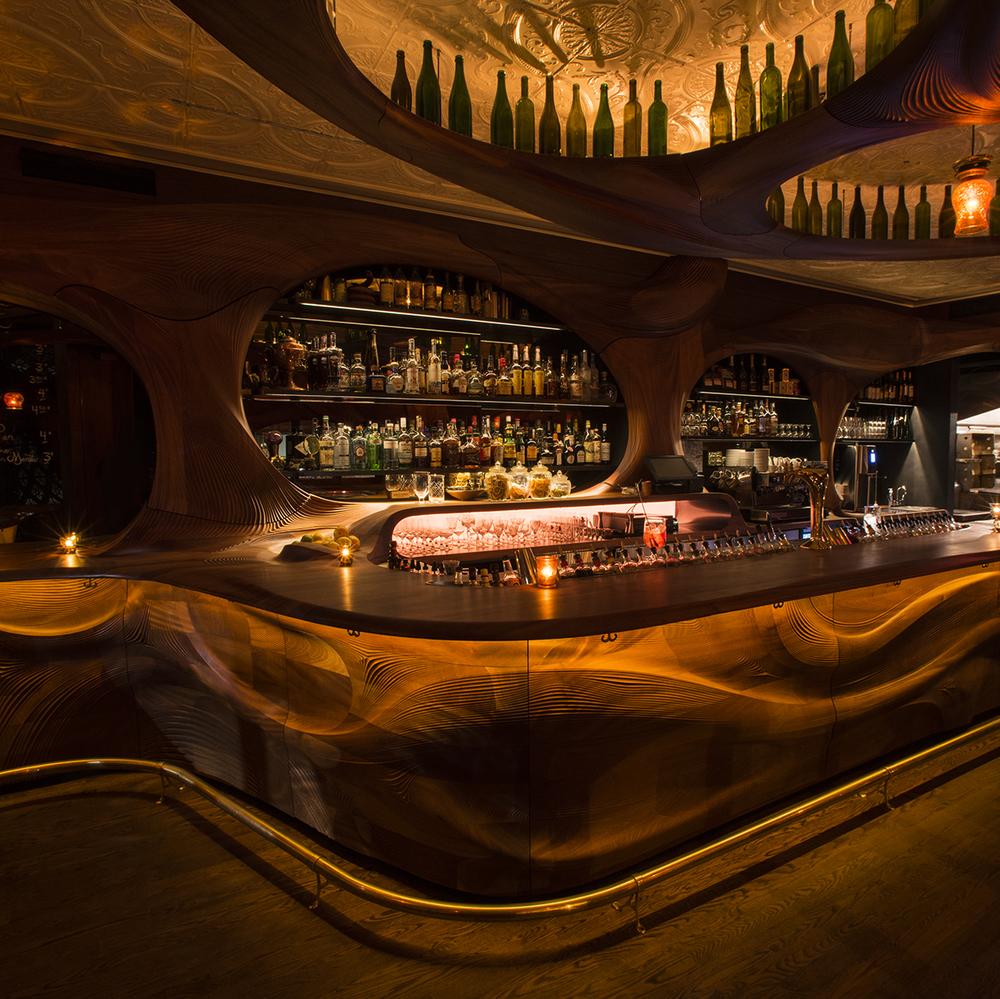 Pintxo: PARTISANS Revisits Art Nouveau with Bar Raval