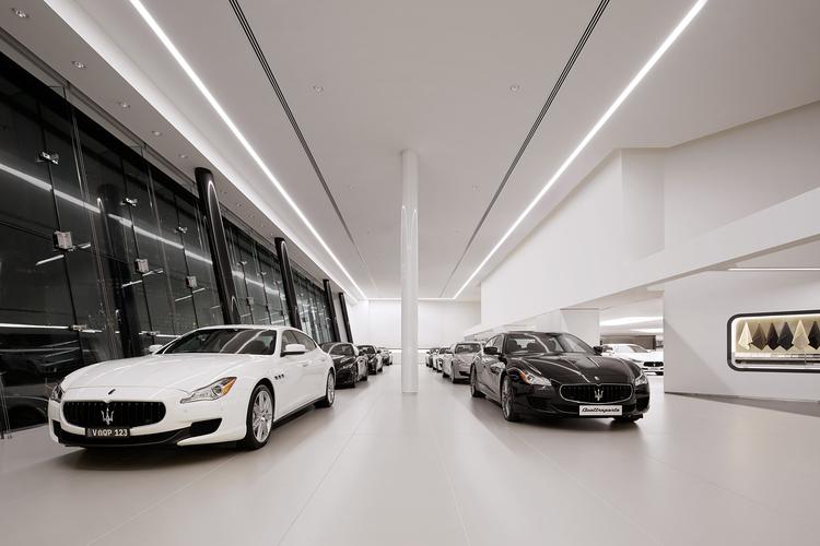 Swanson Melbournes Audi And Maserati Dealership By Elenberg - Maserati car dealership
