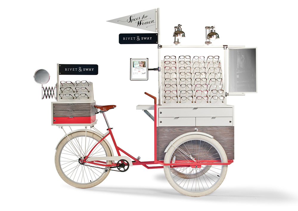 Retail cart pop-up inspiration
