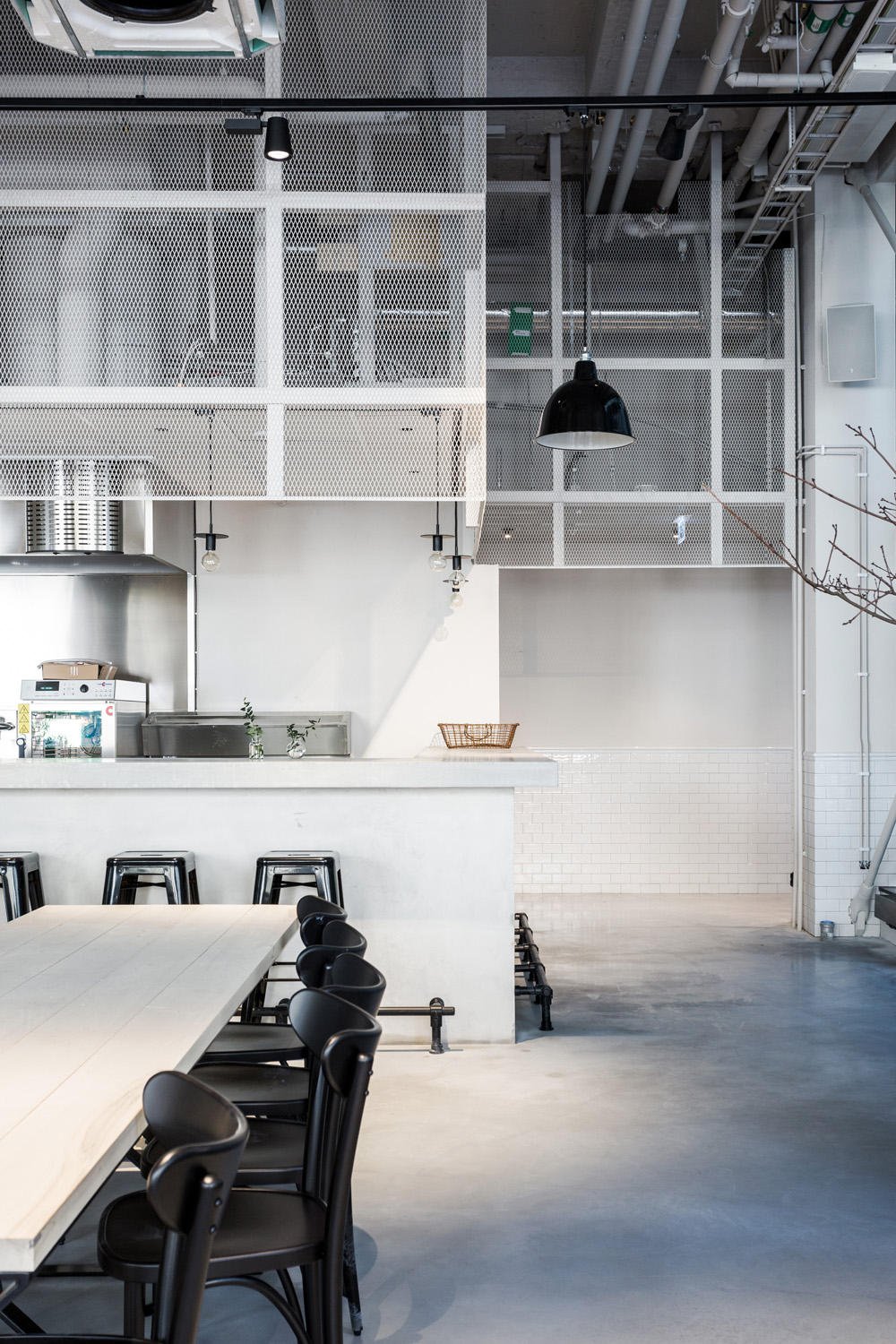 Usine restaurant interior design by Richard Lindvall