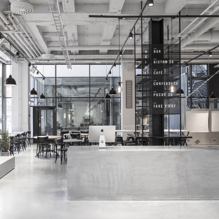 A Concrete Concept Usine By Richard Lindvall Knstrct