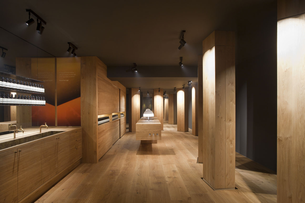 Snohetta carves out aesop 39 s second berlin store knstrct for Design shop berlin